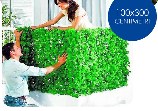 Bruttura e inquinamento inizia tutto con l edera for Siepi artificiali per balconi