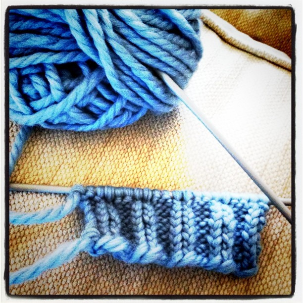 fare a maglia