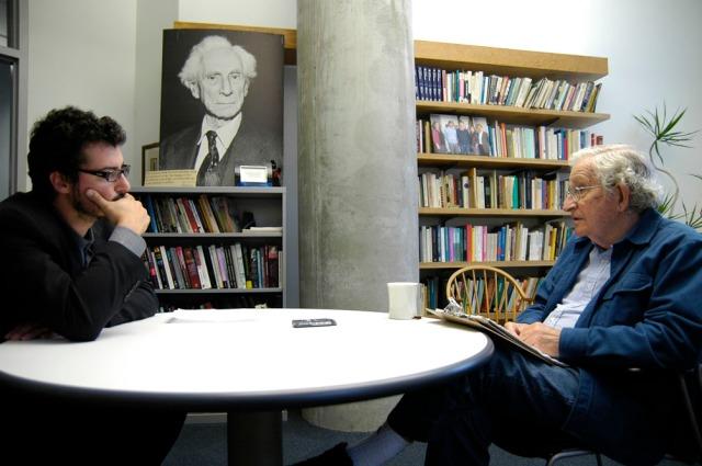 Noam Chomsky Emanuele Bompan
