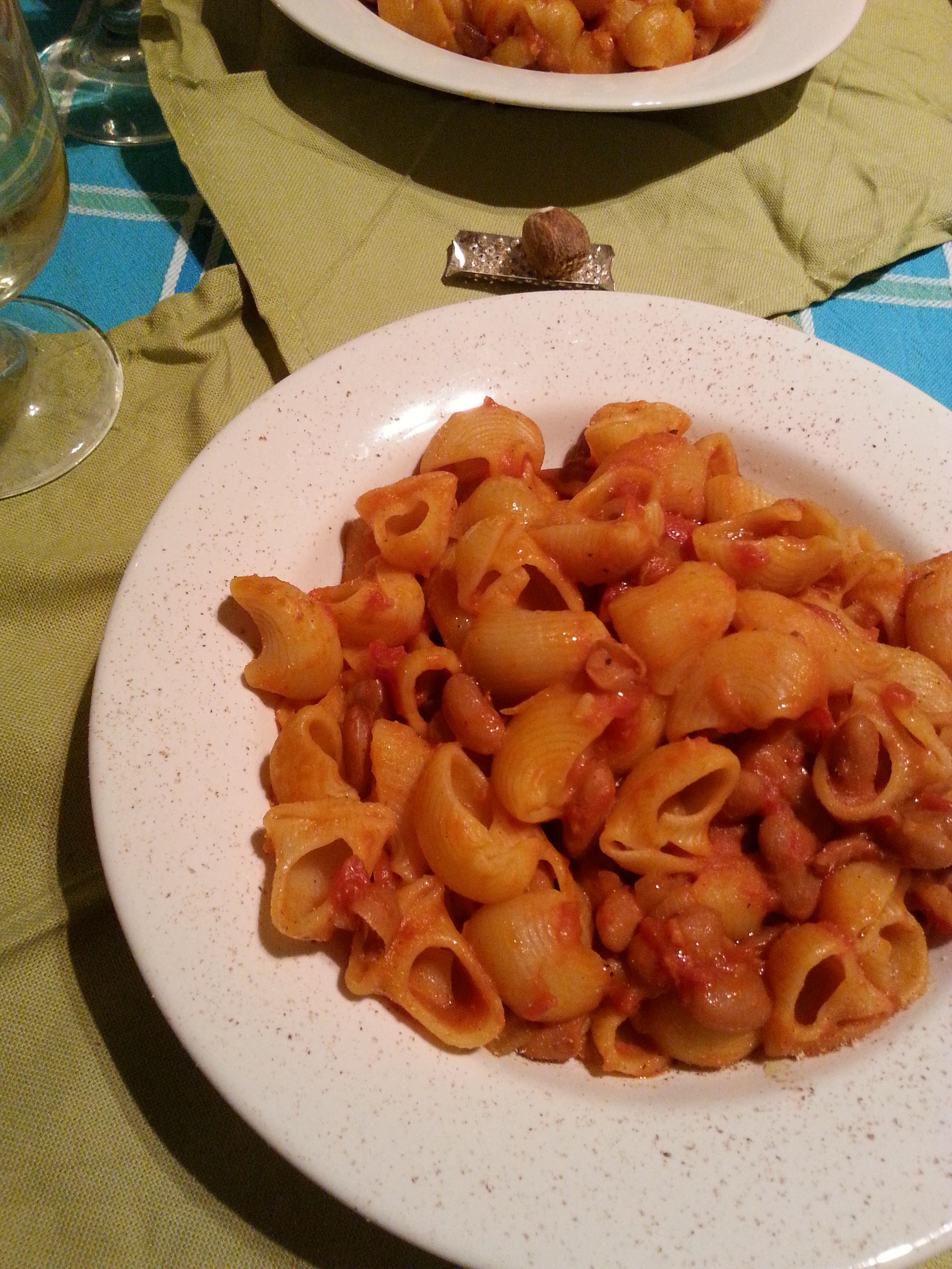 Ricetta della pasta e fagioli semplice