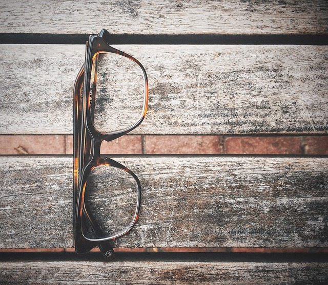 occhiali da vista usati