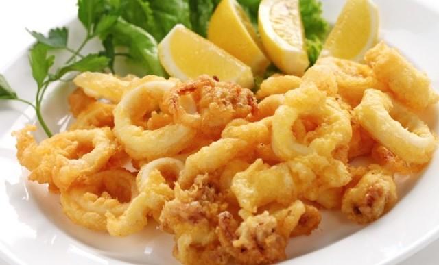 frittura- fritto pesce- fritti